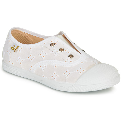 Shoes Girl Low top trainers Citrouille et Compagnie RIVIALELLE White