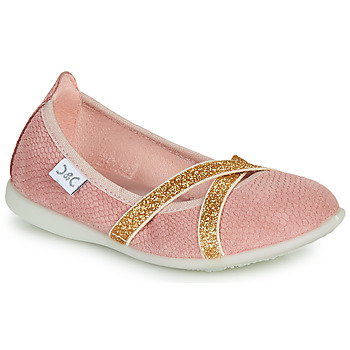 Shoes Girl Flat shoes Citrouille et Compagnie MADY Pink