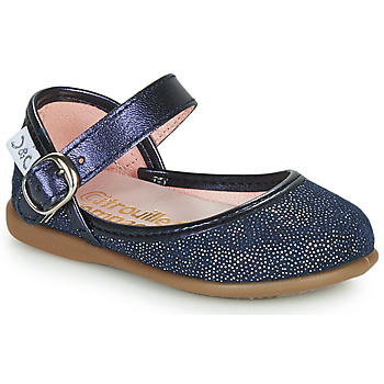 Shoes Girl Flat shoes Citrouille et Compagnie JARITO Marine