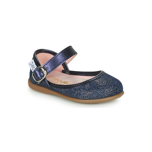 Shoes Girl Flat shoes Citrouille et Compagnie JARITO Marine