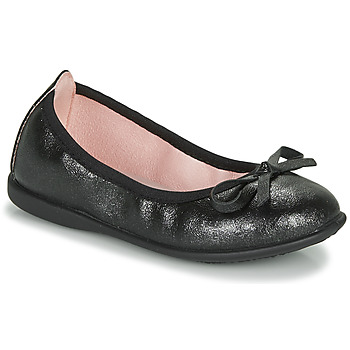 Shoes Girl Flat shoes Citrouille et Compagnie INOBALI Black
