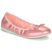 Shoes Girl Flat shoes Citrouille et Compagnie INOBALI Pink