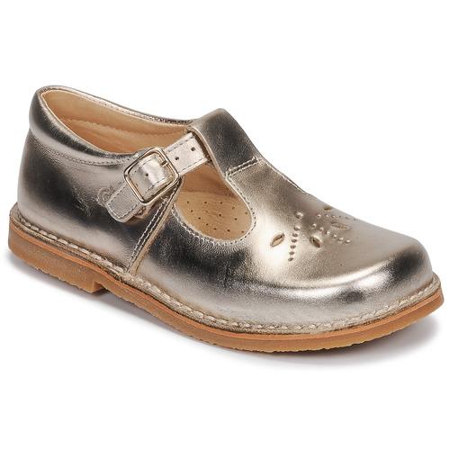 Shoes Girl Flat shoes Citrouille et Compagnie MIDINETTE Gold