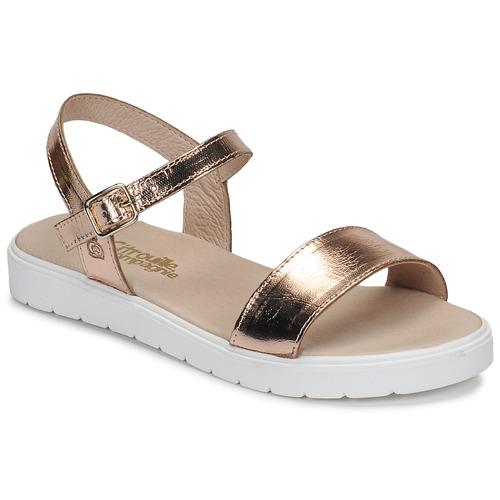 Shoes Girl Sandals Citrouille et Compagnie GAPOTI Bronze