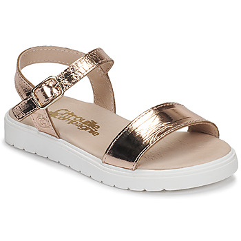 Shoes Girl Sandals Citrouille et Compagnie GAPOTI Bronze