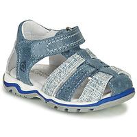 Shoes Boy Sandals Citrouille et Compagnie MARIOL Grey