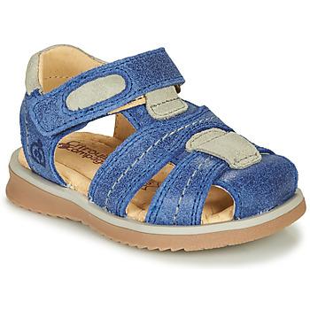 Shoes Boy Sandals Citrouille et Compagnie MABILOU Blue