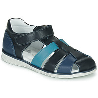 Shoes Boy Sandals Citrouille et Compagnie FRINOUI Blue