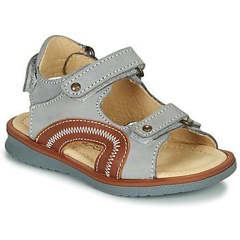 Shoes Boy Sandals Citrouille et Compagnie MASTIKO Grey