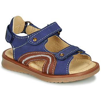 Shoes Boy Sandals Citrouille et Compagnie MASTIKO Blue