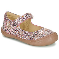 Shoes Girl Flat shoes Citrouille et Compagnie JALIPINE Leopard