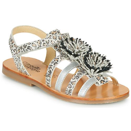 Shoes Girl Sandals Citrouille et Compagnie MALINETTE Leopard