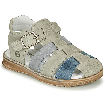 Shoes Boy Sandals Citrouille et Compagnie ZIDOU Grey
