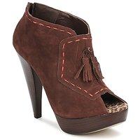Shoes Women Shoe boots Via Uno KAMILA Brown
