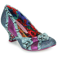 Shoes Women Heels Irregular Choice Shake It Blue