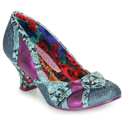 Shoes Women Heels Irregular Choice Shake It Blue