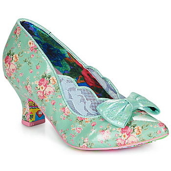 Shoes Women Heels Irregular Choice Marma Ladies Blue