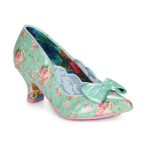 Shoes Women Heels Irregular Choice Marma Ladies Blue