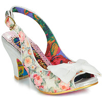 Shoes Women Heels Irregular Choice Hiya Synth White
