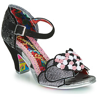 Shoes Women Heels Irregular Choice Darling Bud  black