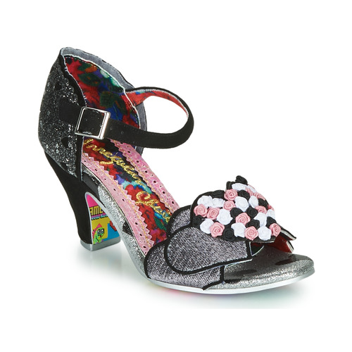 Shoes Women Heels Irregular Choice Darling Bud  black