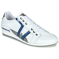 Shoes Men Low top trainers Redskins WARREN White / Blue / Grey