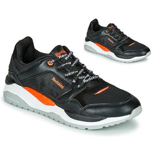 Shoes Men Low top trainers Redskins MALVINO Black