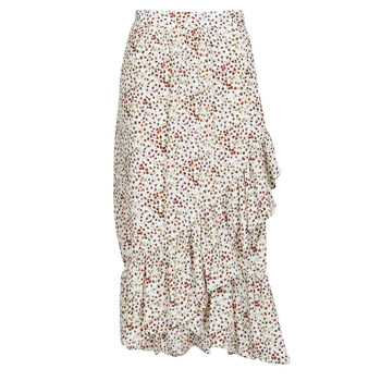 Clothing Women Skirts Betty London MADILOU White / Red