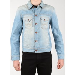 Clothing Men Denim jackets Wrangler Denim Jacket W458QE20T blue