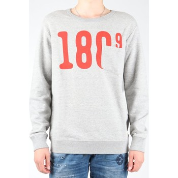 Clothing Men Fleeces Lee Pocket Crew SWS L81APP37 grey, red
