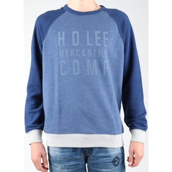 Clothing Men Fleeces Lee Graphic Crew SWS L80ODELR blue