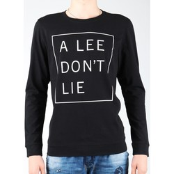Clothing Men Long sleeved tee-shirts Lee Don`t Lie Tee LS L65VEQ01 black, white