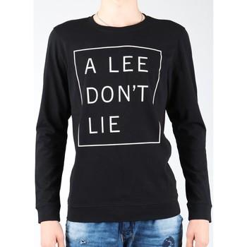Clothing Men Long sleeved tee-shirts Lee Don`t Lie Tee LS L65VEQ01 black, white