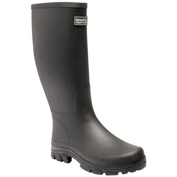 Shoes Men Mid boots Regatta MUMFORD II Wellingtons Deep Green  Black Black