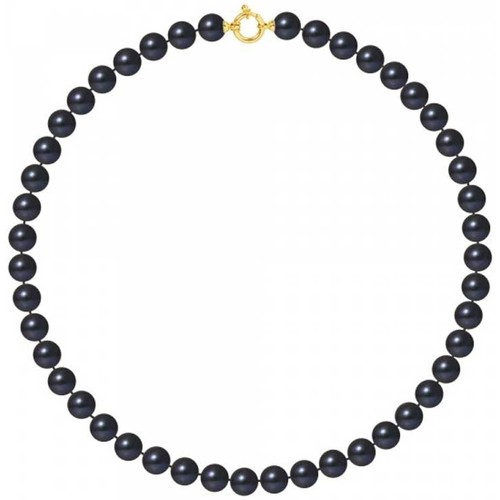 Watches Women Necklaces Blue Pearls BPS K064 W Multicolored
