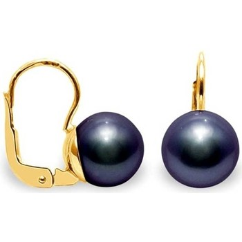 Watches & Jewellery  Women Earrings Blue Pearls BPS K637 W Multicolored