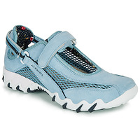 Shoes Women Outdoor sandals Allrounder by Mephisto NIRO Blue
