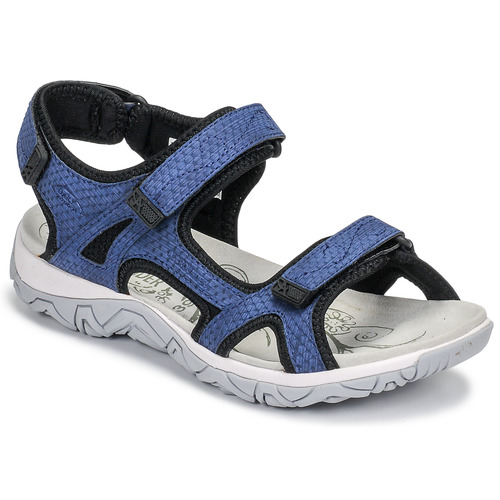 Shoes Women Outdoor sandals Allrounder by Mephisto LARISA Blue