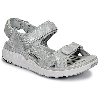 Shoes Women Outdoor sandals Allrounder by Mephisto ITS ME Silver