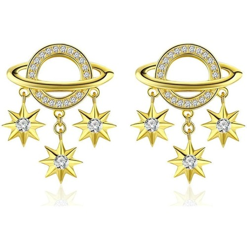 Watches Women Earrings Blue Pearls CRY C2351 J Multicolored