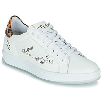 Shoes Women Low top trainers Replay MELANIA White