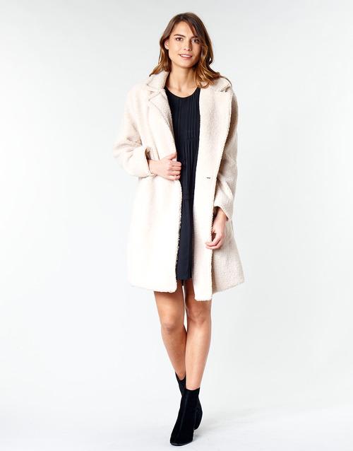 Clothing Women Coats Betty London  Beige