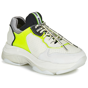 Shoes Women Low top trainers Bronx BAISLEY White / Yellow