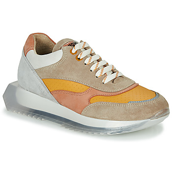 Shoes Women Low top trainers Bronx LINKK-UP Taupe / Pink / Grey