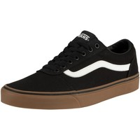 Shoes Men Low top trainers Vans Ward Canvas Trainers black