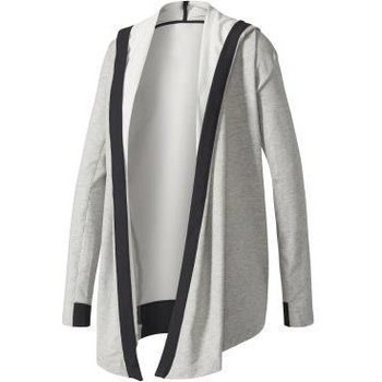 Clothing Women Sweaters adidas Originals Wrap ME UP Coverup Grey
