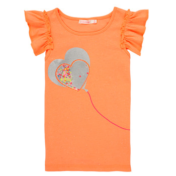Clothing Girl Tops / Sleeveless T-shirts Billieblush / Billybandit NELI Orange