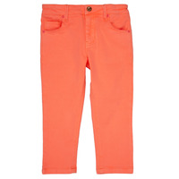 Clothing Girl 5-pocket trousers Billieblush / Billybandit NEVA Orange