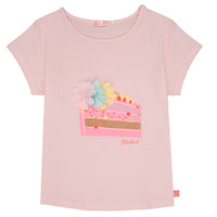 Clothing Girl Short-sleeved t-shirts Billieblush / Billybandit NILIAM Pink