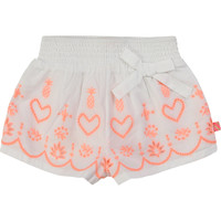 Clothing Girl Shorts / Bermudas Billieblush / Billybandit NEYO White